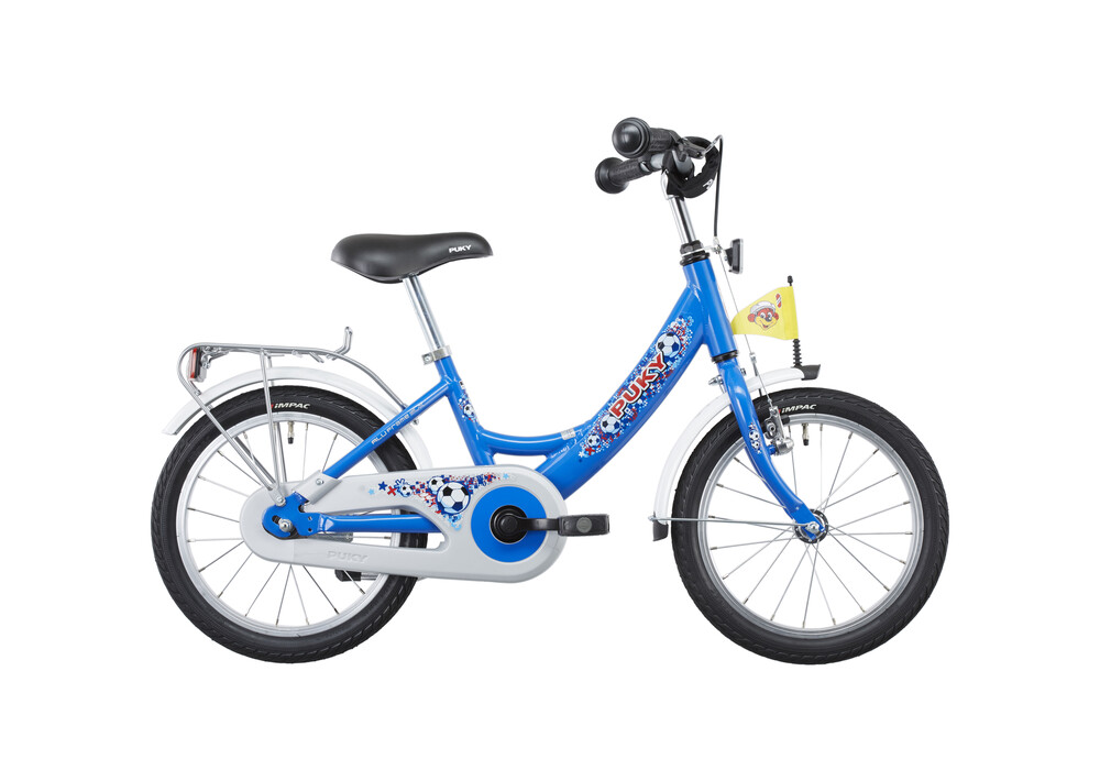 puky zl 16 1 kinderfahrrad 16 alu fu ball blau online bestellen bei. Black Bedroom Furniture Sets. Home Design Ideas